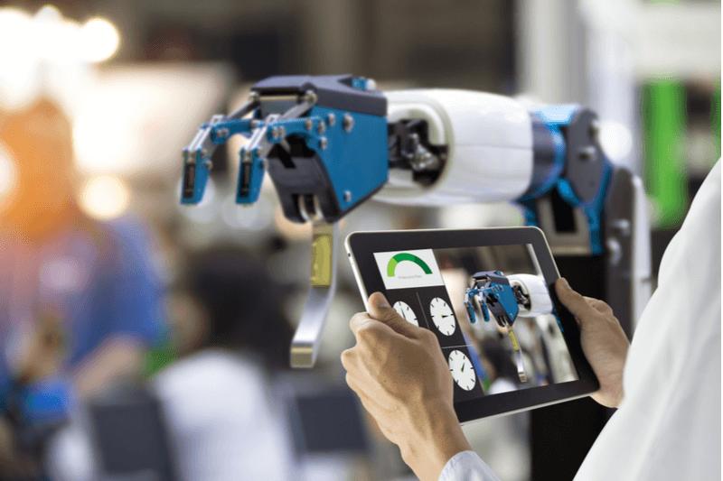 Main d'œuvre robotique