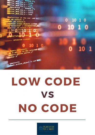 Livre blanc low code no code